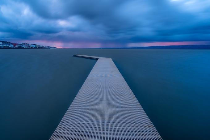 before the storm by NicholasEJones - The Blue Color Photo Contest 2018