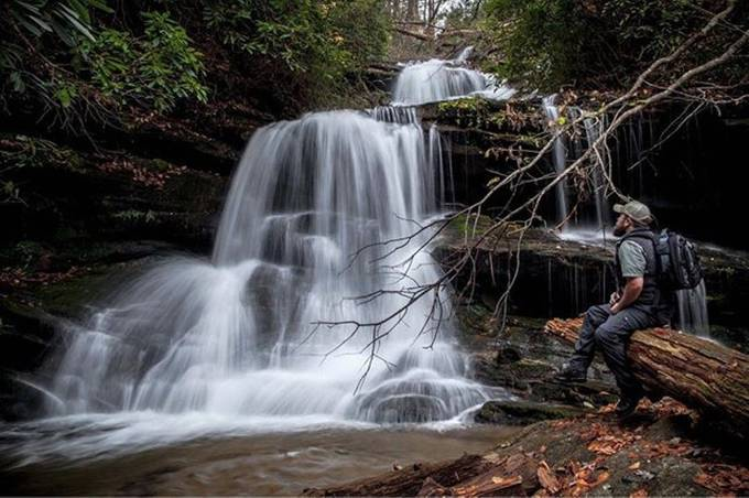Taking it all in at Martin Falls by zachbale - Covers Photo Contest Vol 51