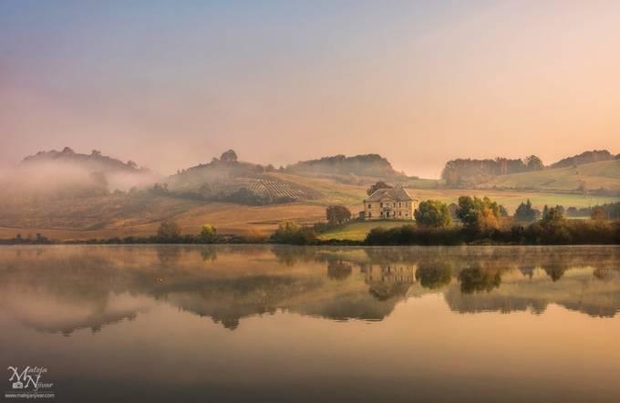 Morning fog in the morning sun by MatejaNjivar - Covers Photo Contest Vol 51