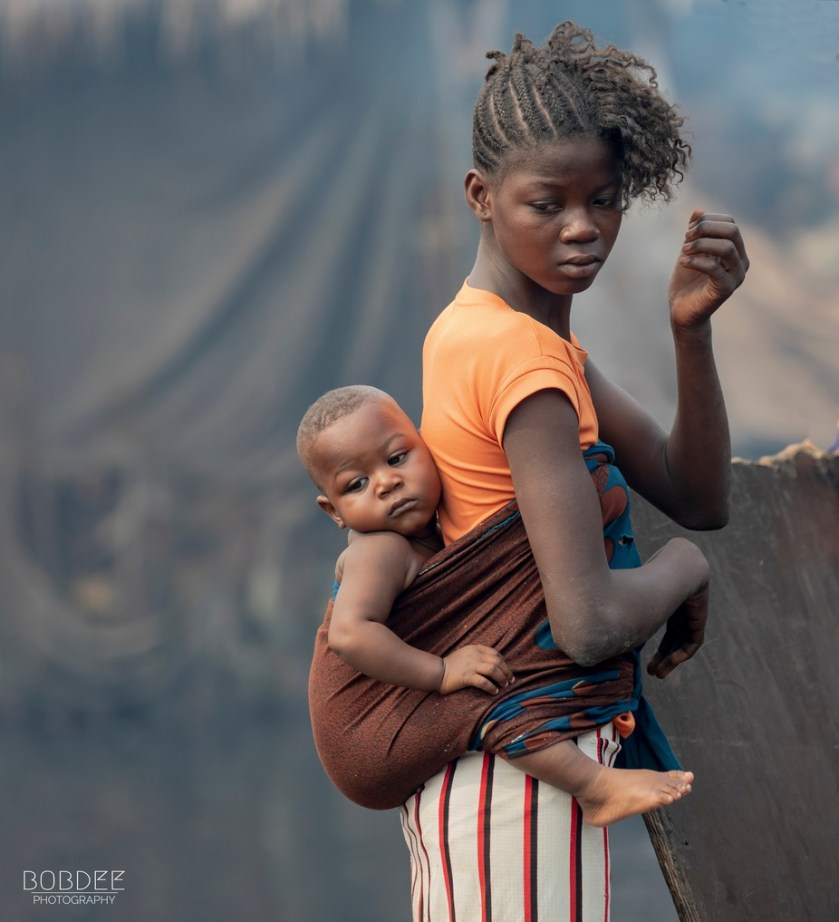Young Mother by bobdee - Image Of The Month Photo Contest Vol 43