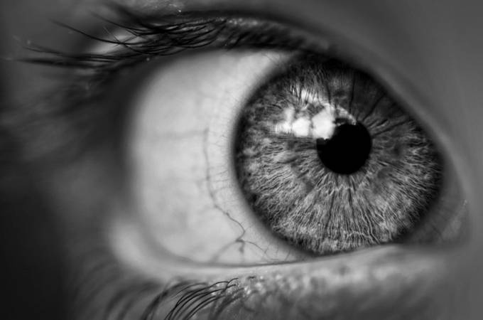Eye B/W by nightrose0087 - Shallow Depth Photo Contest