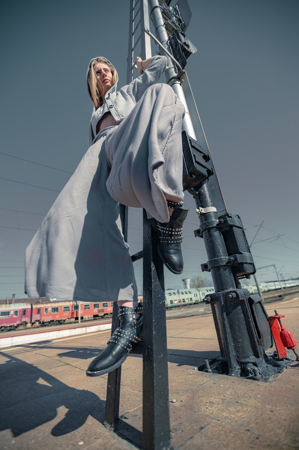 To the train station by surlorand - Image Of The Month Photo Contest Vol 43