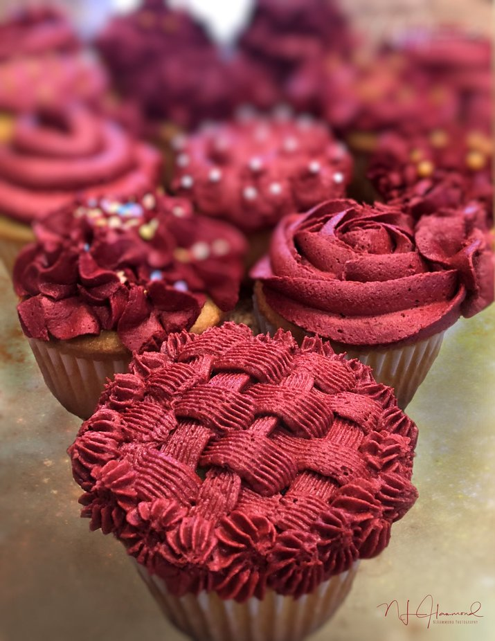 Cupcake Decadence by nlhammondphotography - Shallow Depth Photo Contest