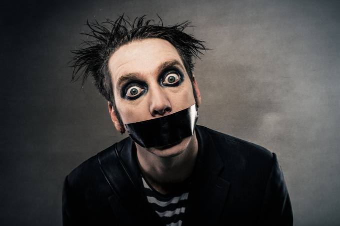 Tape Face by ADZyne - My Best New Shot Photo Contest