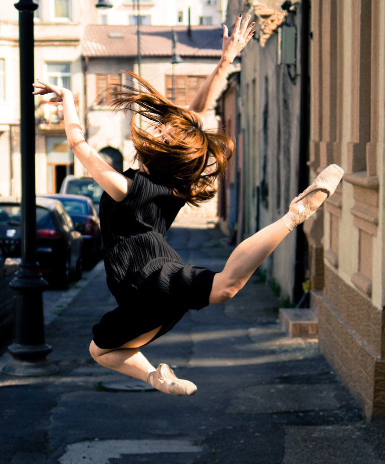 Ballet in the streets by mihneastefan - My Best New Shot Photo Contest
