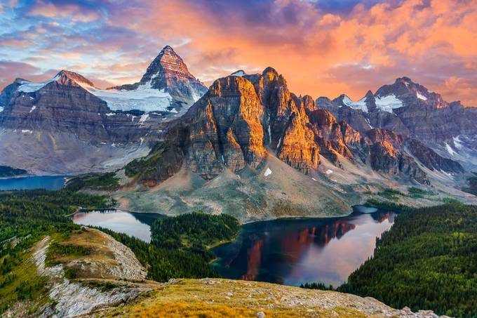 Mt Assiniboine and Sunburst Peak by jeremystevens_3464 - Canada Photo Contest