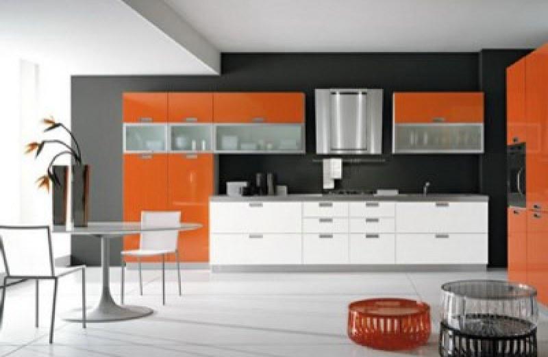 Κουζίνα σε νέο σπίτι