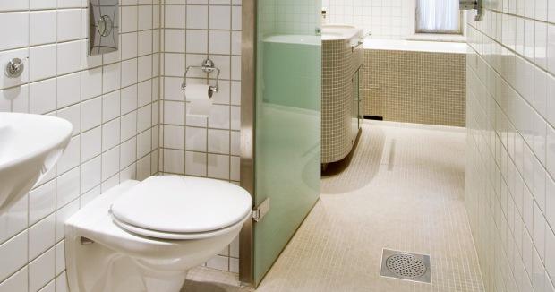 Μία λύση για μικρό μπάνιο