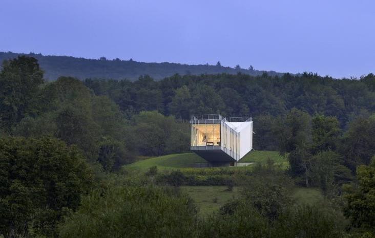 Το γυάλινο σπίτι του Warren Schwartz