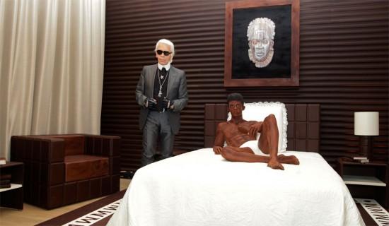 Το σοκολατένιο δωμάτιο του Karl Lagerfeld