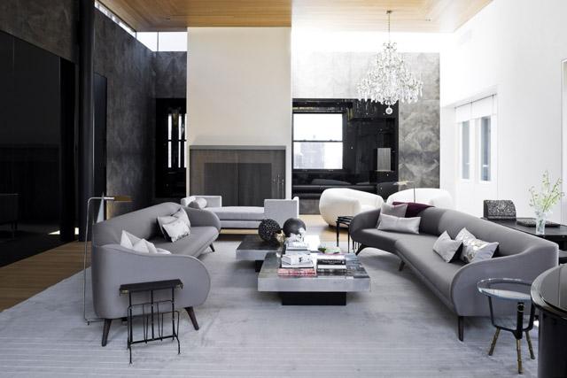 Ένα κομψό διαμέρισμα στην Tribeca