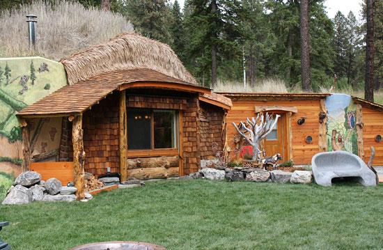 Ένα σπίτι Hobbit!