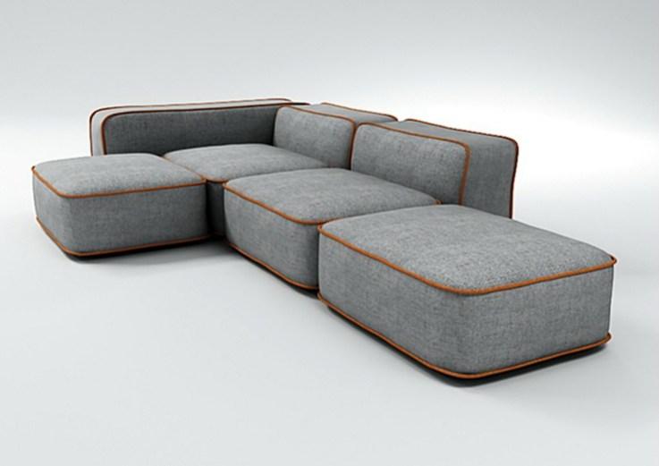 Ο απαλός καναπές MARSHMELLO