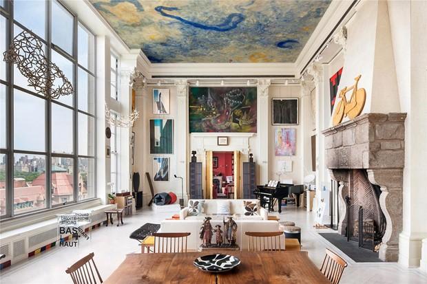 Ένα Loft αφιερωμένο στην τέχνη