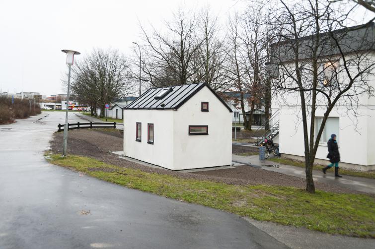 Η μικρότερη μονοκατοικία στη Σουηδία