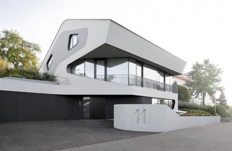 Φουτουριστική αρχιτεκτονική στη Στουτγάρδη