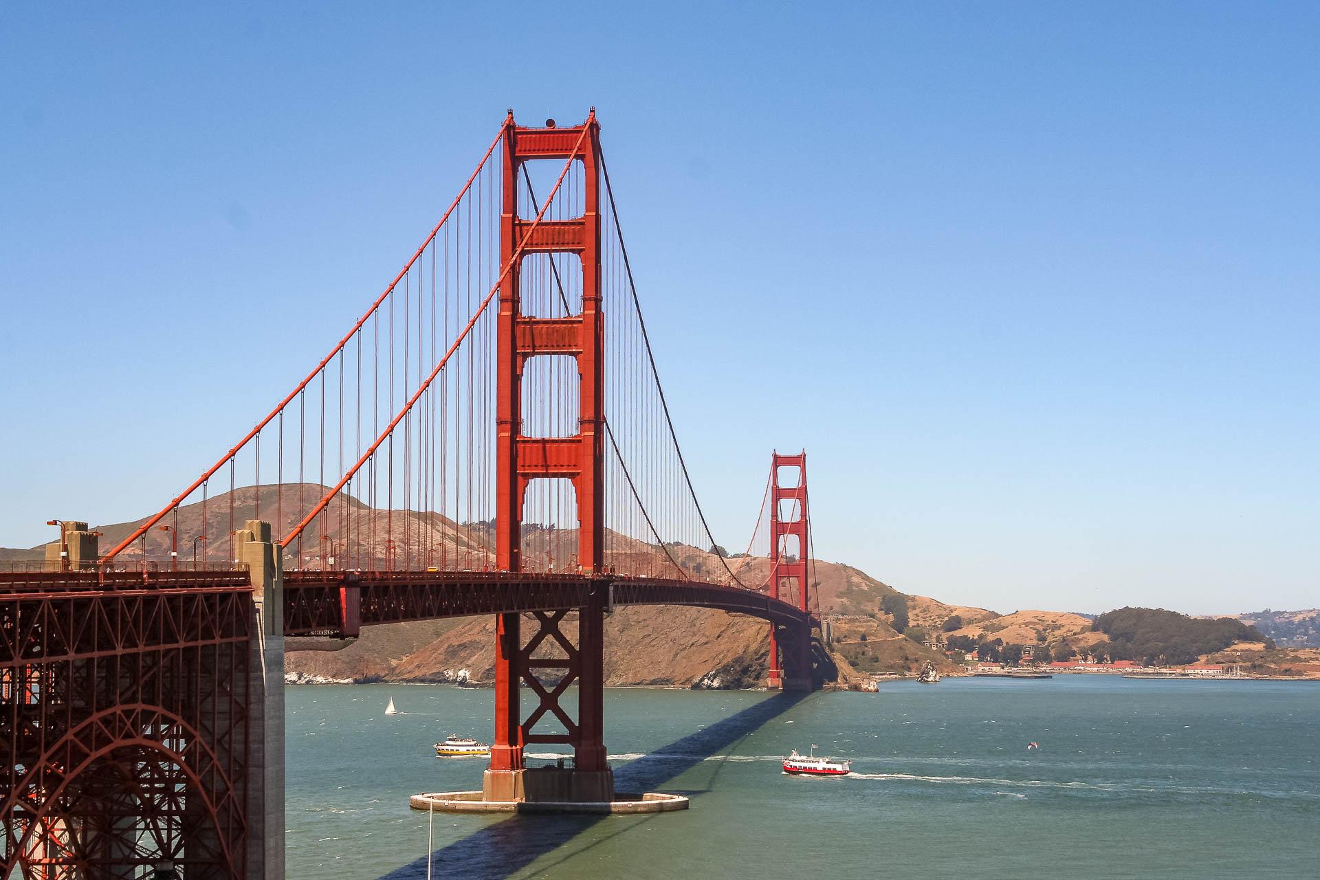 und nochmal Golden Gate Bridge