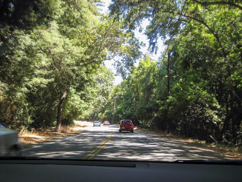 Fahrt zum Big Sur