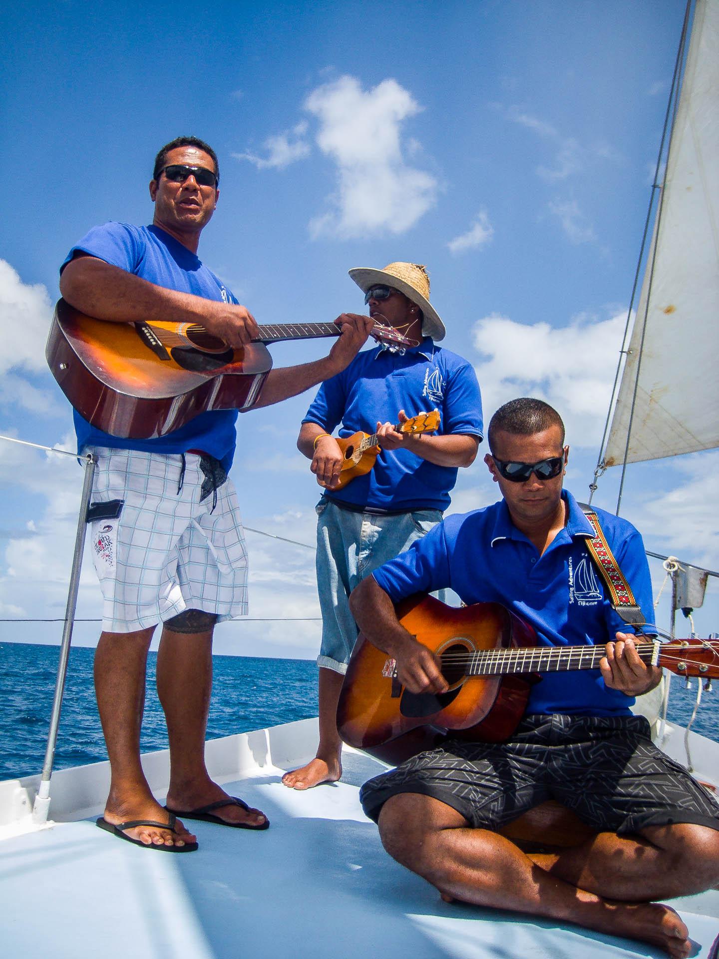 Band on the ship