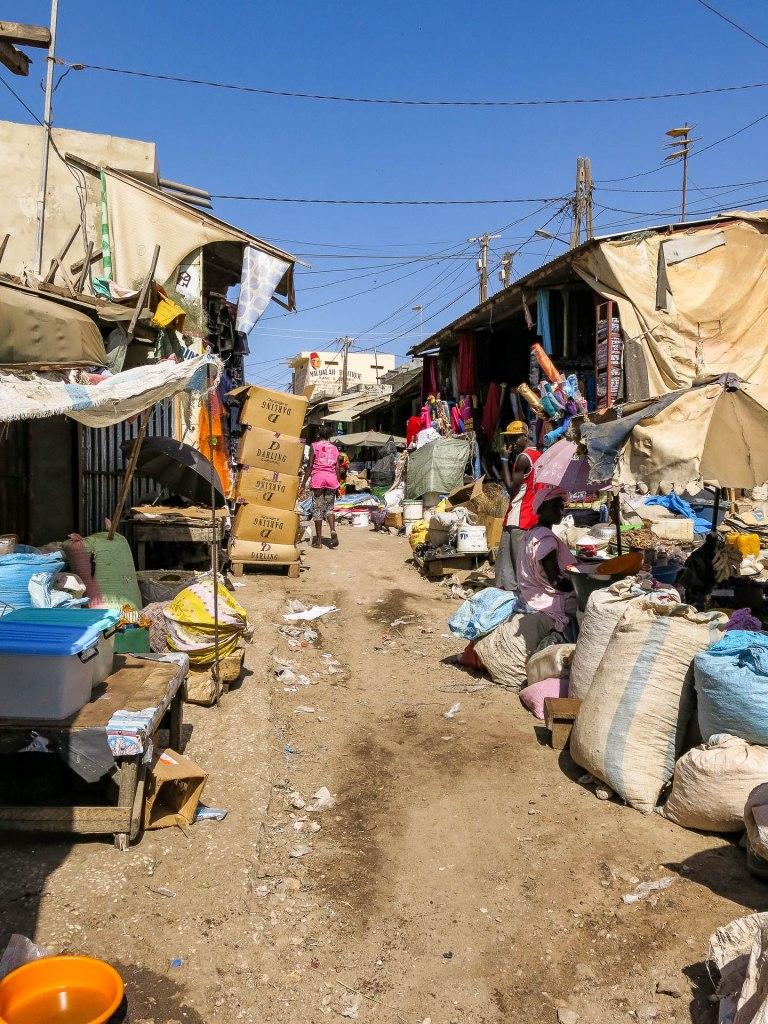 Markt in MBour
