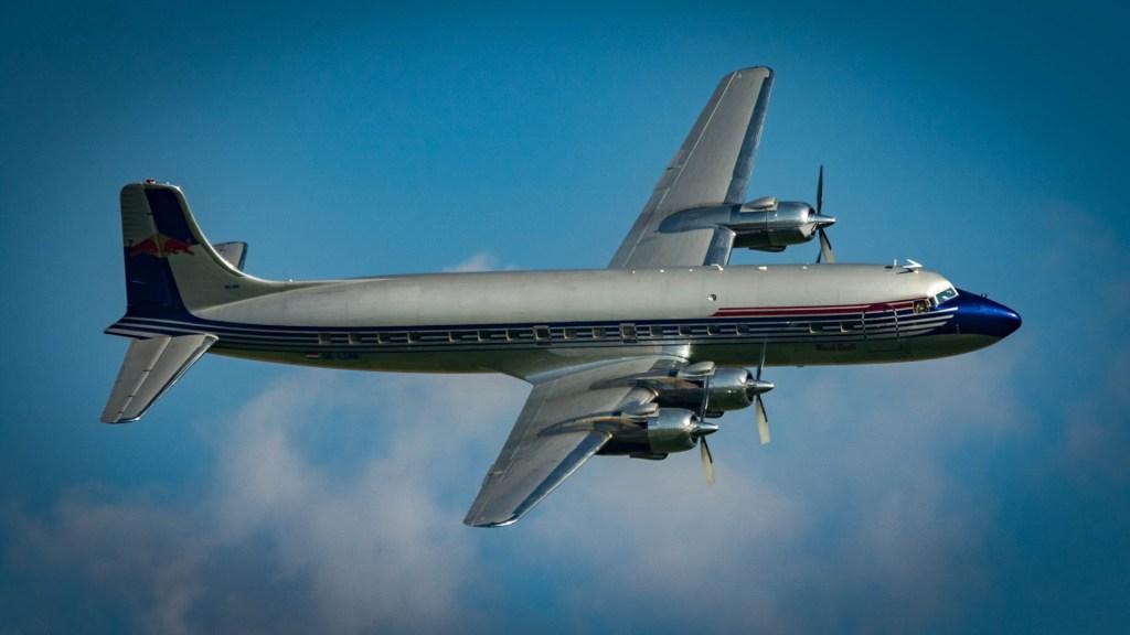 DC-6 Queen of the Sky :-)