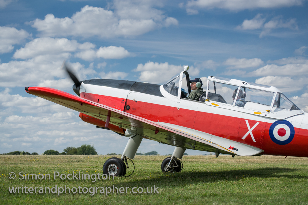 Aircraft photography DHC-1 Chipmunk T10 WZ879