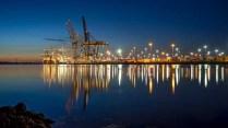 Frank Gregory - Southampton Docks (Landscape, PDI - SOM)