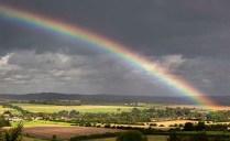 Jillian Koernich - Rainbow over Hampshire (Landscape, PDI - SOM)