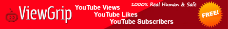 ViewGrip: #1 Free Youtube Views, Likes & Subscribers