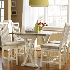 White Washed Oak Dining Table And Chairs Mainstays Outdoor Rocking Chair Black Universal Furniture | Curated Drop Leaf Console