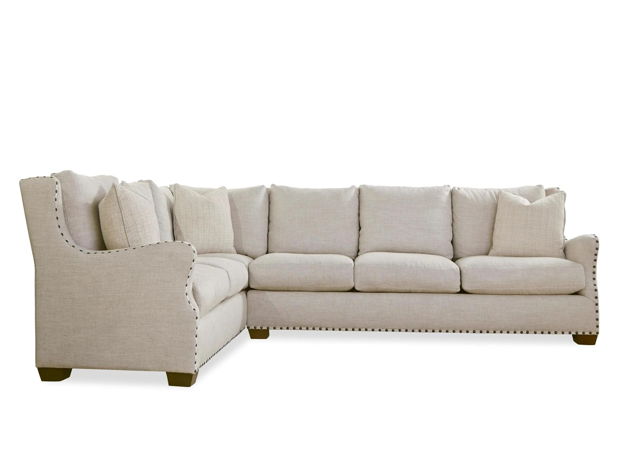 left arm sofa sectional replacement seat cushions australia universal furniture curated connor right