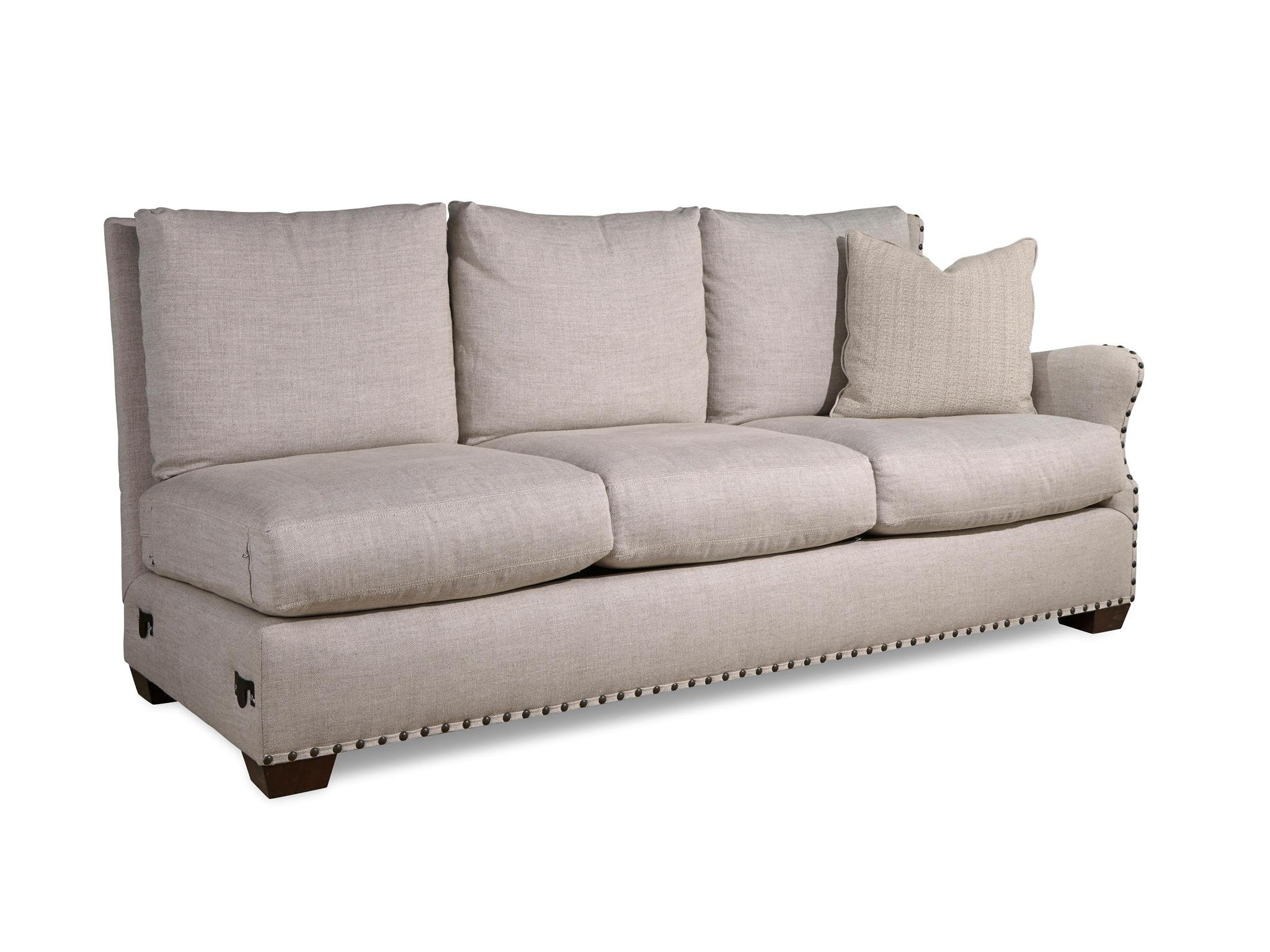 left arm sofa sectional danish sofas universal furniture curated connor right