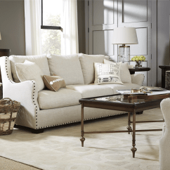 Belgian Linen Sofa Cindy Crawford Fontaine Sectional Universal Furniture | Sojourn Connor