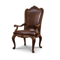 Hooker Leather Chair Sport Brella Recliner Universal Furniture | Villa Cortina Upholstered Back Arm