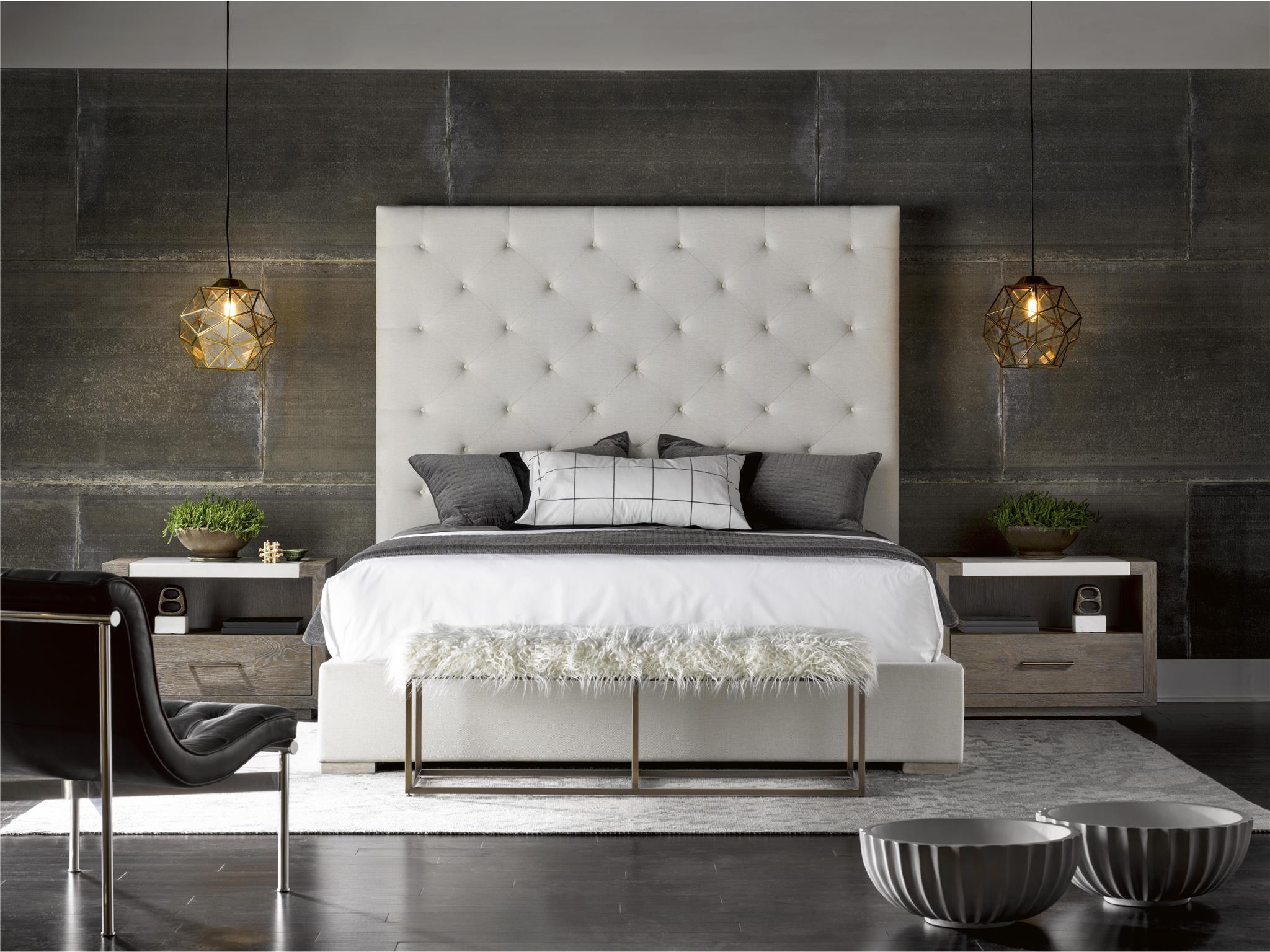 Universal Furniture  Modern  Brando King Bed