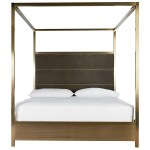 Modern Harlow King Canopy Bed Universal Furniture