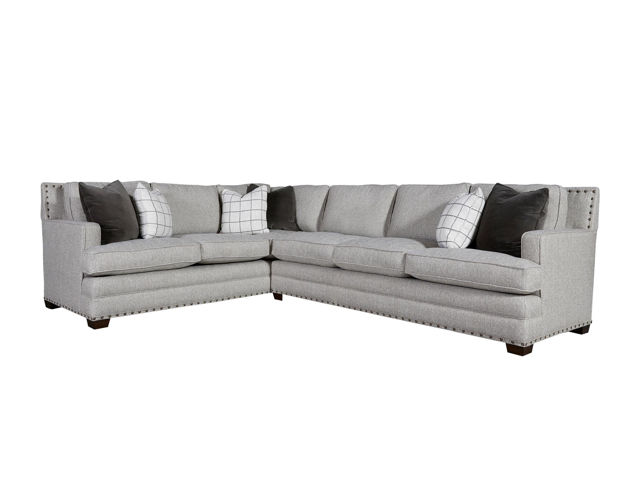 left arm sofa sectional rustic tables with drawers universal furniture curated riley right