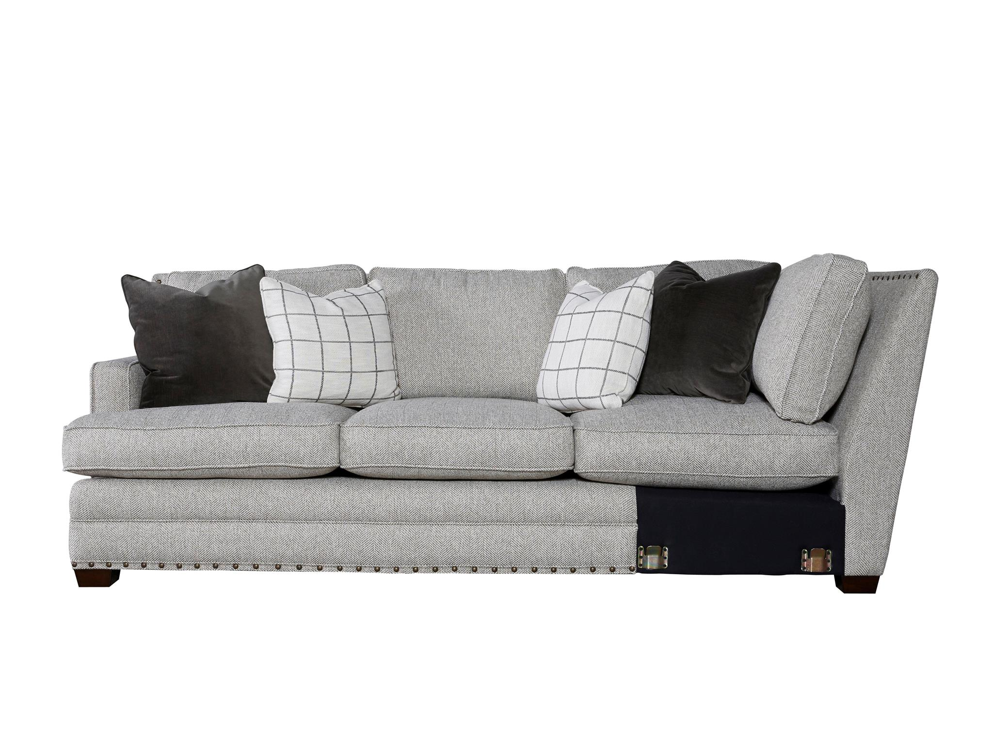 left arm sofa sectional target vienna sleeper universal furniture curated riley right