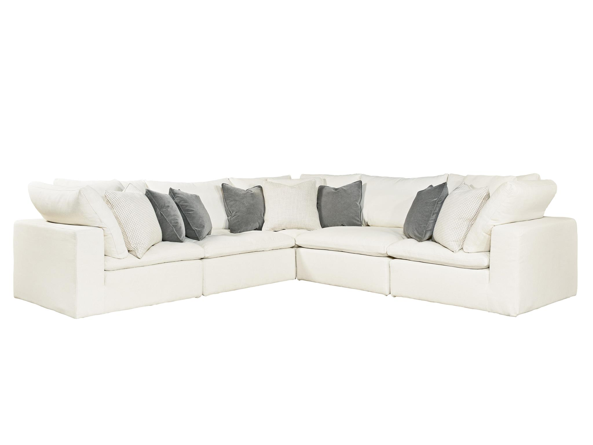 Universal Furniture  Curated  Palmer Sectional5 Piece