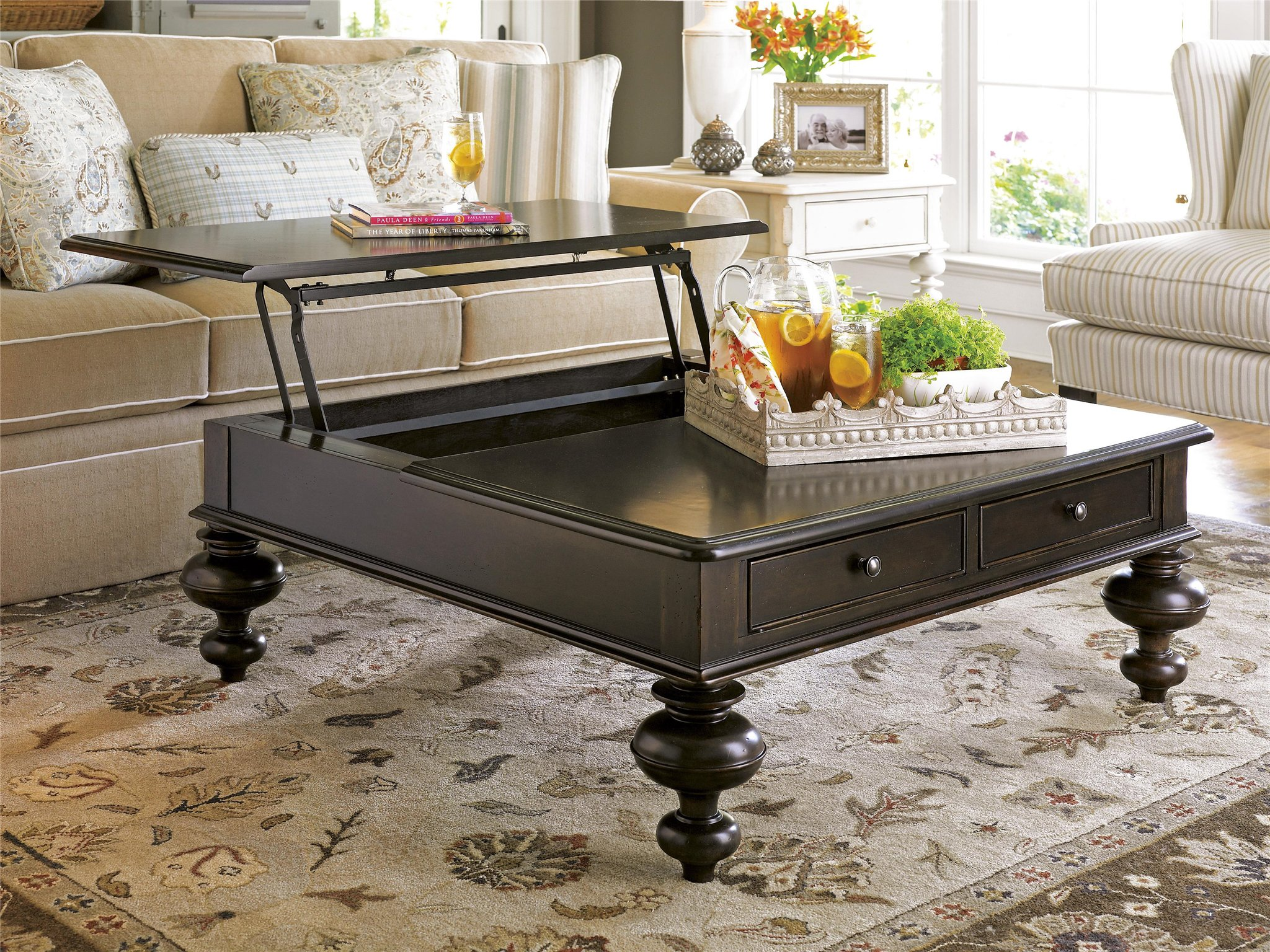 paula deen table and chairs office chair houston universal furniture home put your feet up