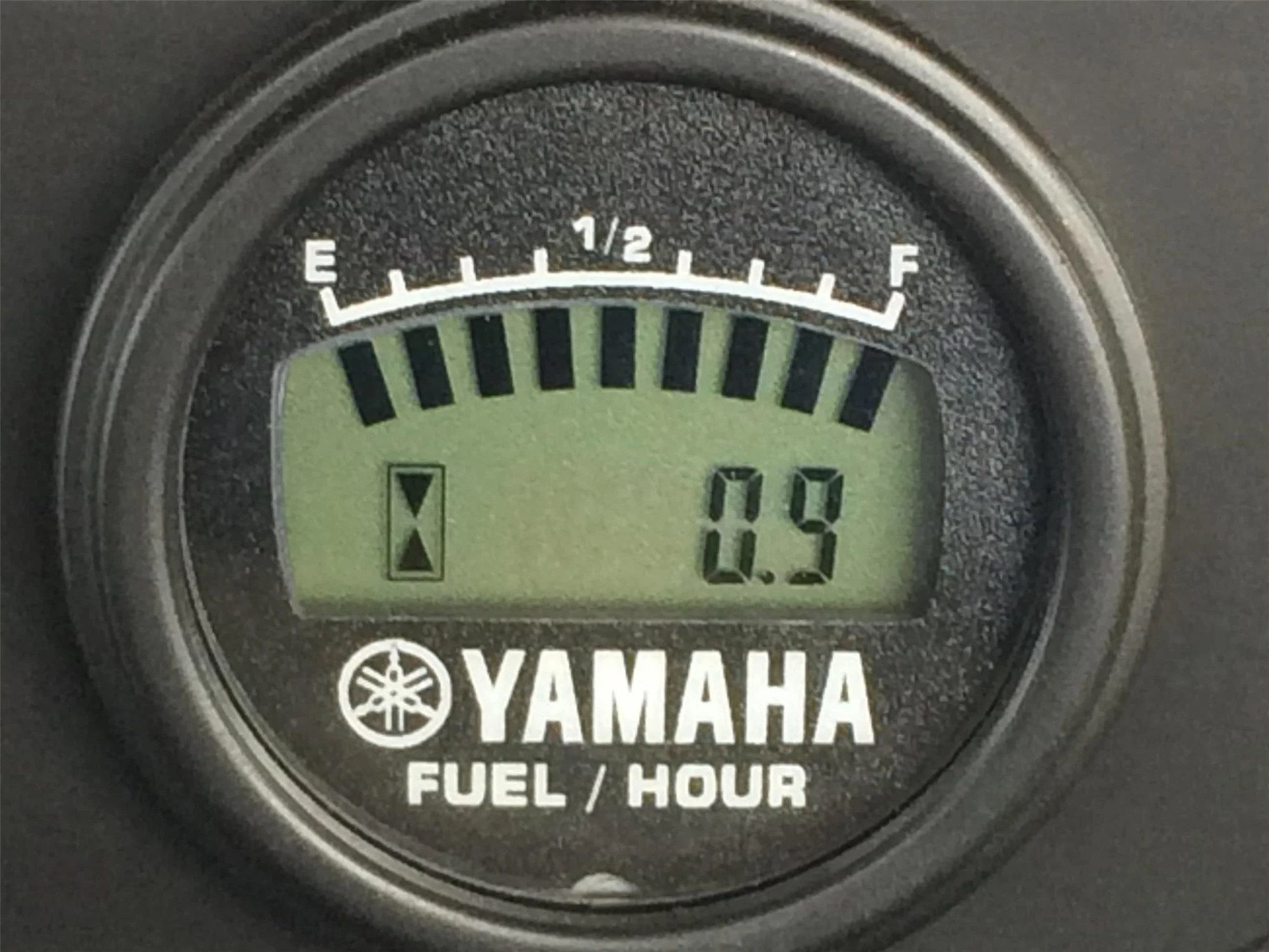 hight resolution of fuel gauge