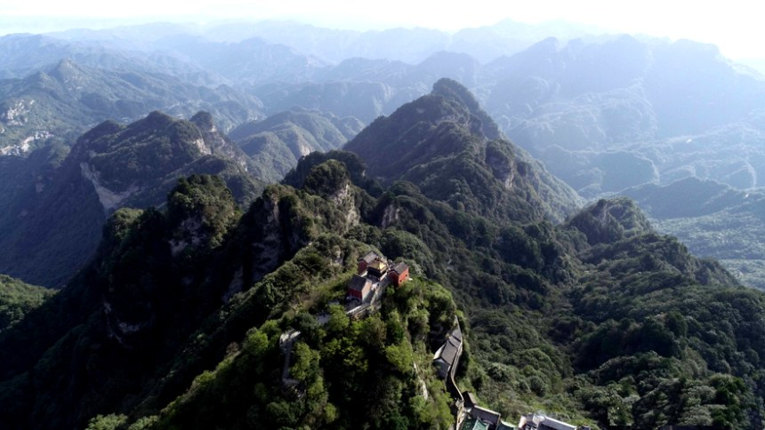 Daoist centre in Mt. Wudang