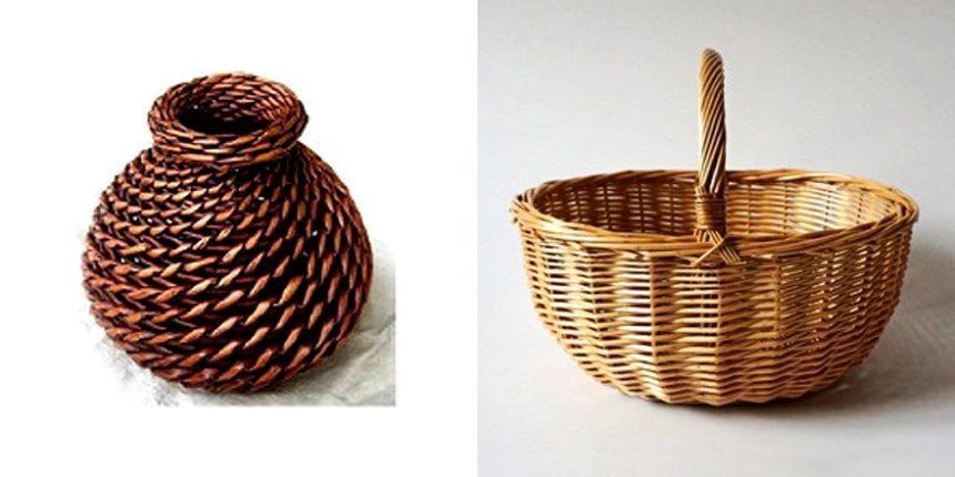 Willow products made by Binzhou villagers