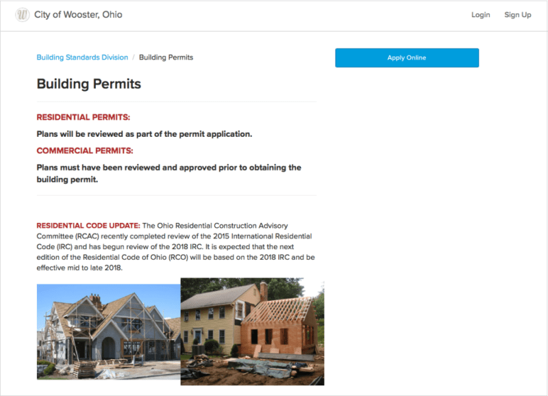 Buidling Permit Application | ViewPoint Cloud 3 ePermitting