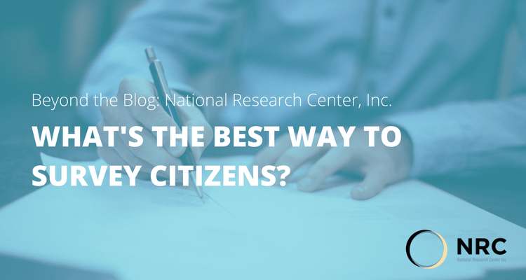 What's the Best Way to Survey Citizens?