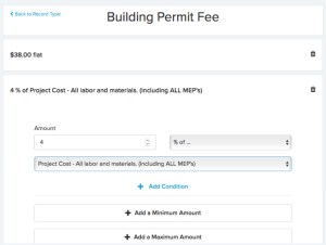 Building Permit Fee Automatic Calculation | ViewPoint Cloud