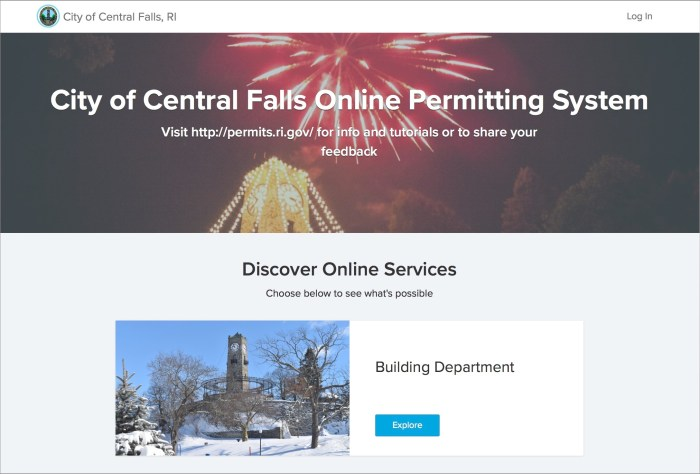 Central Falls Rhode Island | VIewPoint Cloud Storefront
