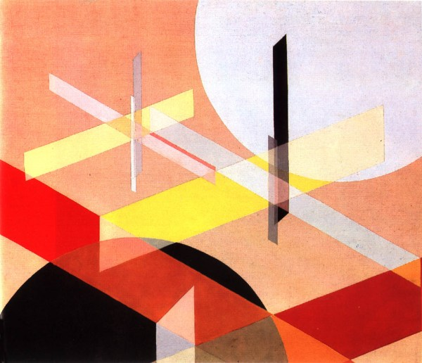 Laszlo Moholy-Nagy, Composition Z VIII, 1924