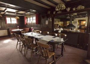 Chequers Inn DIning Room
