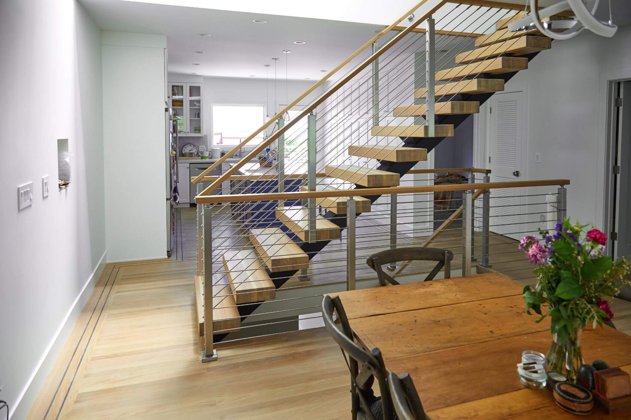 Types Of Stairs Modern Straight L Shaped U Shaped More   Modern U Shaped Staircase   Design   Floating   Interior   Amazing Modern   Oval Shaped